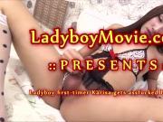 Young Ladyboy Karisa Fucked Bareback