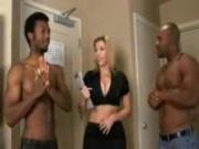 she pleases 2 black men
