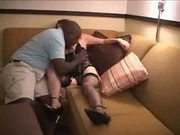 guys wife fucks a black man - hubby films