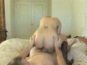Sexy amateur wife fucked hard and facialed