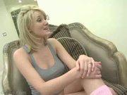 Carli Banks is stunning blonde