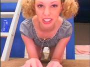 Petite Slut Is Fucked By A Big Cock!