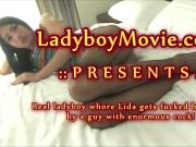 Ladyboy Whore Lida Barebacked