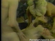Christy Canyon 3 way vintage sex
