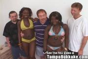 These Ebony Bi-Babes Cum Constantly For Those Dudes