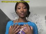 Ebony Girl Imani Masturbates
