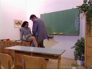 hot teacher nailed in the classroom