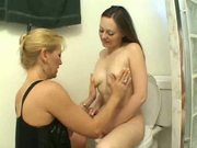 mature woman and teen have fun in the ...