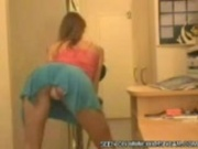 Ex Girlfriend dances on the webcam to keep me going