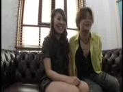 Japanese Gal Touched By Horny Guy