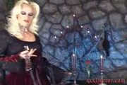 Gothic Vampiress Alira In Her Dungeon