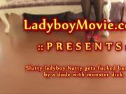 Ladyboy Natty Fucked Bareback