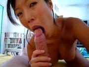 Asian wife doing the deed