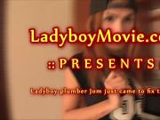Ladyboy Jom Getting Bareback Fucked