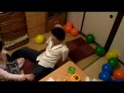Japanese Woman Gets Nailed In The Room