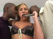 Flower Tucci takes 2 black ones