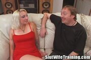 Wife Learns to Swallow Cum