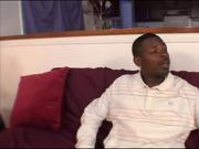 Hungry Ebony Girl Gives Head And Nails Dark Weiner