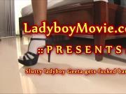Ladyboy Geeta Gets Fucked Bareback