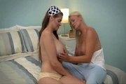 June & Juliana - Busty lesbians