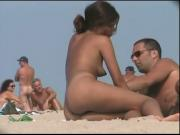 Very Pretty Girl On Nude Beach BVR
