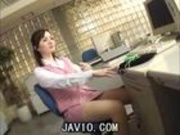 Very beautiful japan office lady