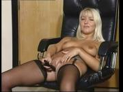 British slut Felicia plays with herself in various scenes