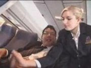 Airplane Handjob