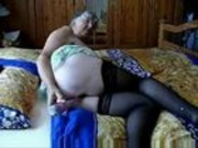 Old granny still loves sex!!
