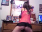 my sister twerking again