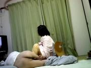 Sex life of Japanese elderly couple Having fun 3