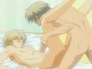 Gay animation - two young guys - hot story
