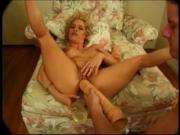 Blond slut Dakota fucked with toys and cock Sid69