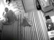 Wife Caught Masturbating On Hidden Cam !