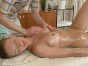Cute Teen Maria Gets A Massage And A Taste Of Cum