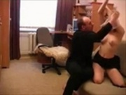 Daddy caught his Step-Daughter masturbating
