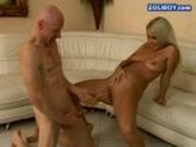 Alleta fucks old guy 1
