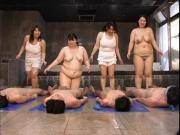Japanese Four Plumper Play Bathroom Vol.1