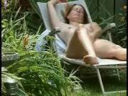 Watch my mom fingering in court yard