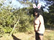 Brenda - The pink bunny ears