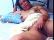 FILIPINA LADY LYN VOLANTANTE 40 SHOWS HER PUSSY ON CAM