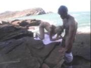 Priscila Prado fucking by the Sea