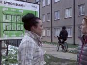 shona mcgarty eastenders in arse hugging jeans
