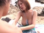 BEB-078 - M-Cup Lady Popping Up in Different Places Part 1