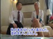 Caught Blonde Woman by Japanese Man 4
