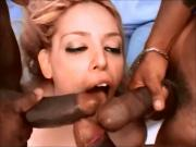 Josy 3 black dicks 1 spanish chic