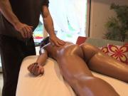 Amia Miley gets a Massage and is Fucked