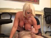 Busty Milf Gives Cock Therapy