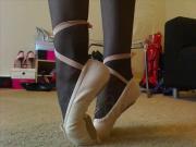 ballet slippers tease wide screen
