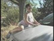 BIG BREASTED BLONDE BIMBO + CAR WASH =